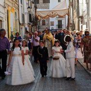 La comunión en aa pueblo español