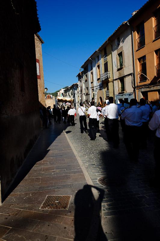 Communion in aa spanish village