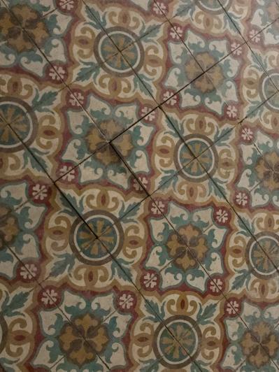 The beauty of encaustic tiles in Spain