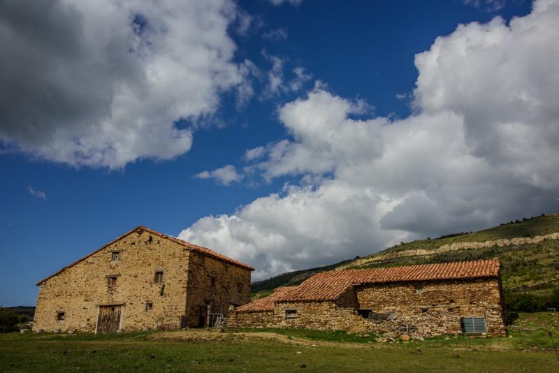 old spanish stone finca