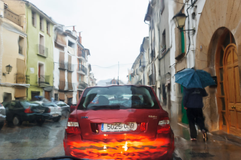 The rain in Spain can be a pain