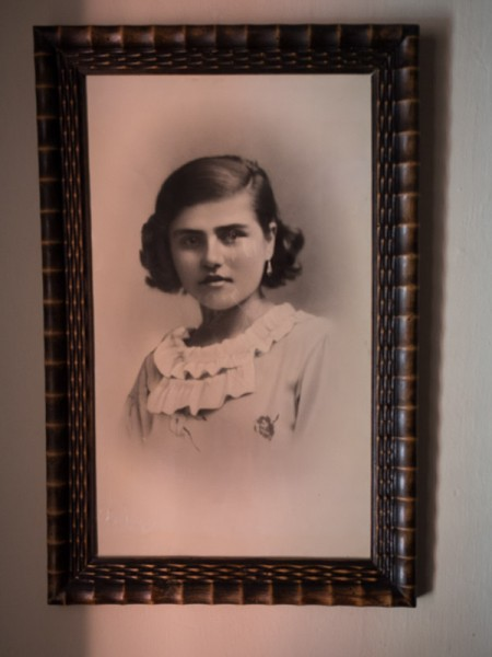 Angels' beautiful grandmother was killed by a nazi bomb