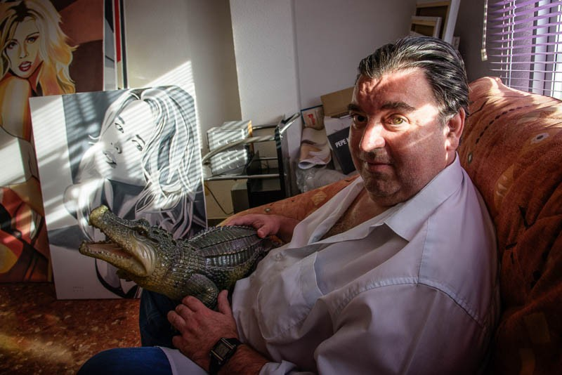 Pepe Nebot suggested the crocodile...