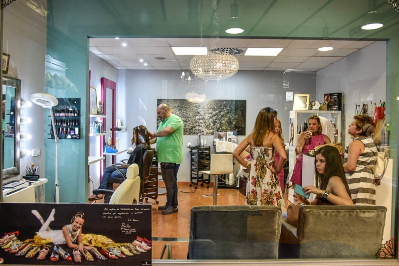 Hair salon, Valenica