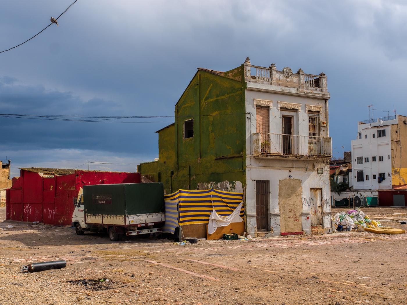 The devastation of El Cabanyal