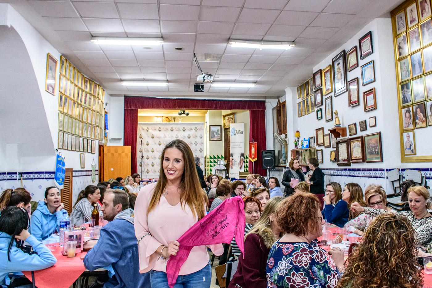 Meeting of The Fallas queens, El Cabanyal, 2019