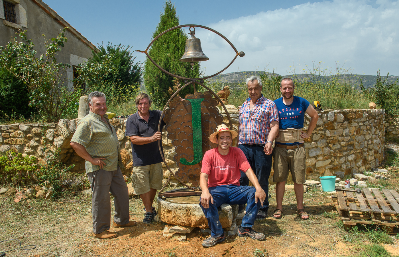The bell installation group