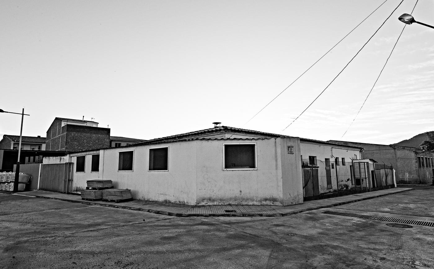 The abattoir was deathly quiet in Atzeneta